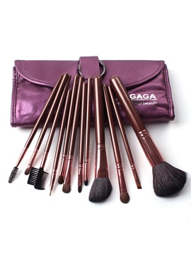 12pcs Professional Goat Hair Cosmetic Brush Set