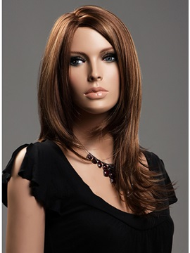 Custom Cheap Long Capless Synthetic Hair Wig