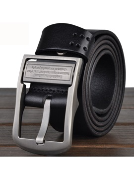 Fashion Pin Buckle Mens Belt