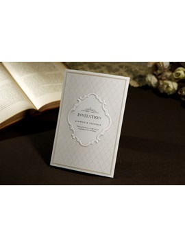 Simple Style And Tri Fold Invitation Cards 20 Pieces One Set