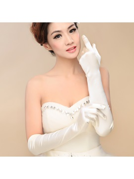 Long Wedding Gloves
