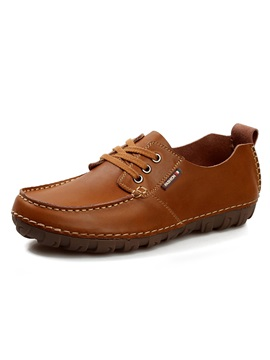 Patent Leather Plain Quilted Simple Mens Shoes