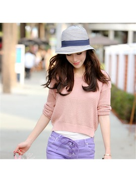 Fashion Stripe Womens Hat