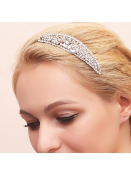 Unique Rhinestone Wedding Headpiece