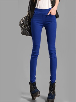 Womens Skinny And Stretchy Pencil Leggings