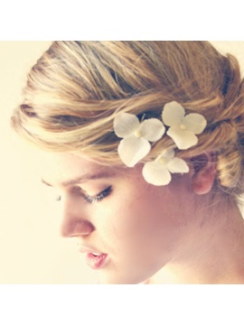 Pretty Floral Wedding Hair Pin 3 Pcs One Set