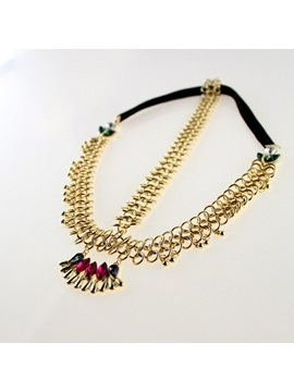 Vintage Pendant Alloy Hair Band