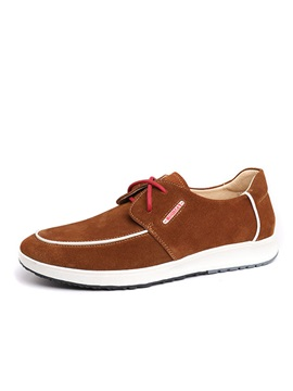 Suede Lace Up Mens Shoes