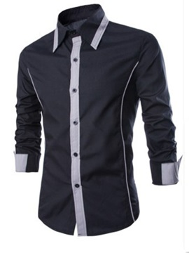 Hot Sale Long Sleeve Men Shirt