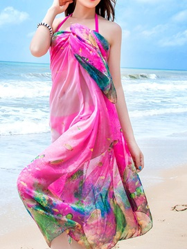Beautiful Chiffon Women Beach Sarong