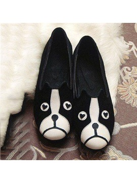 Dog And Cat Slip On Flats
