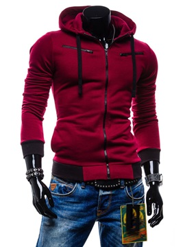 Top Quality Long Sleeve Men Hoody With Pockets