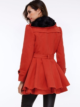 Splendid Double Breasted Trench Coat