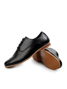 Pointed Toe Lace Up Mens Shoes