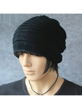 Casual Knitting Mens Hat