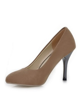 Suede Pointed Toe Classic Pumps