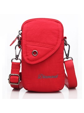 Casual Sports Style Durable Zipper Arm Bags