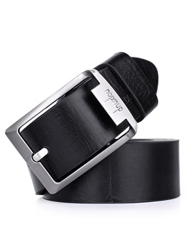 Concise Pin Buckle Chic Pu Belt