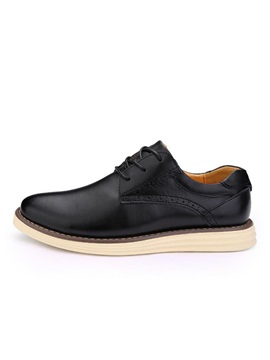 Front Lace Up Mens Casual Shoes