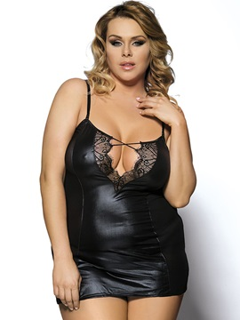 See Through Lace Women Plus Size Intimates