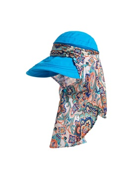 Bohemian Sun Protective Women Outdoor Hat