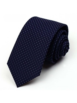 Polka Dot Decorated Mens Necktie
