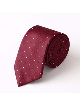 Dots Decorated Necktie
