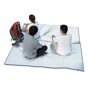 Aluminum Coating Oversized Camping Ground Sheet