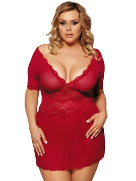 Hollow Women Plus Size Intimate