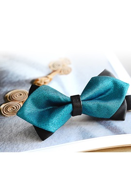 British Style Double Deck Mens Bow Tie