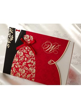 Unique Design Wedding Invites 20 Pieces One Set