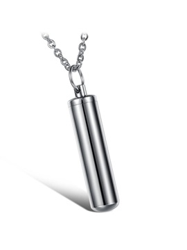Simple Style Pendant Mens Necklace