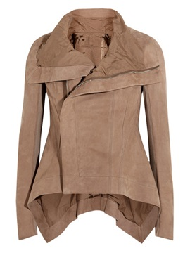Stylish Hem And Collar Short Jacket