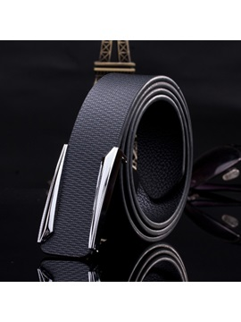 Stylish Embossed Mens Belt