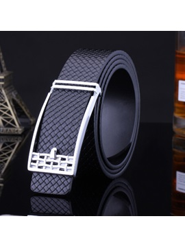 Weaved Style Mens Belt