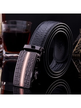 Fashion Embossed Mens Belt