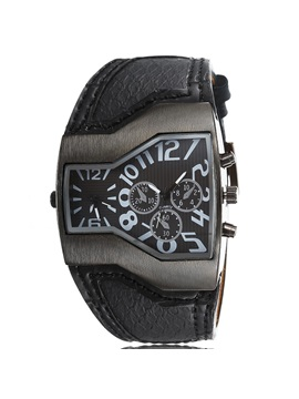 Unique Dial Mens Belt Watch