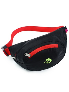 Beautiful Waterproof Zipper Waist Pack