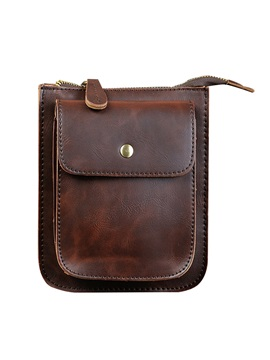 Top Quality Durable Pu Mens Shoulder Bag