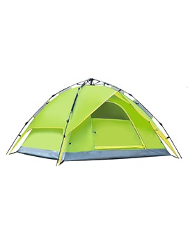 Rainproof 3 4 Person Camping Pop Up Tent