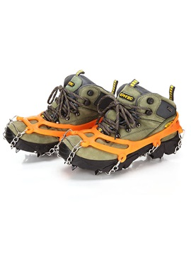 Mountaineering Footwear With Crampon