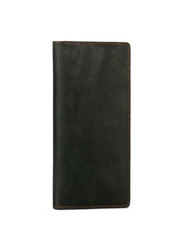 Retro Style Solid Men Wallet