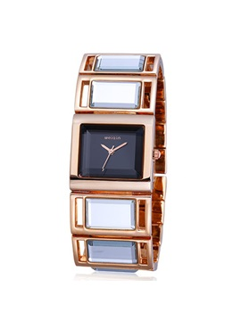 Elegant Folding Clasp Womens Watch