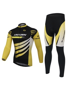 Polyester Full Zip Quick Drying Bike Outfit