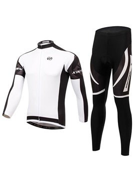 Polyester Full Zip Cycling Outfit