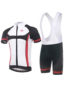 Streamlined Design Cycle Jersey And Bib Shorts