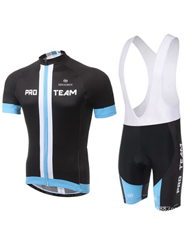 Multi Color Polyester Cycle Jersey And Shorts