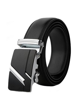Hot Sale Embossing Leather Mens Belt