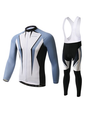 Windproof Fleece Winter Mens Basic Cycling Outfit