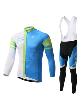 Multi Color Polyester Cycle Jersey And Bib Tights